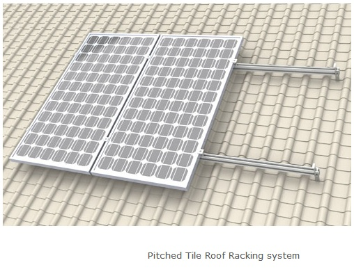 Sistema de anclaje para techo de tejas o similar for Tejas livianas para techos